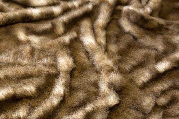Кожаный мех текстуры фона