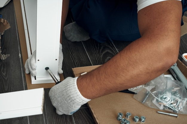 Furniture assembly process