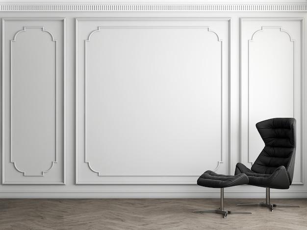 현대적인 인테리어의 가구 장식, 고급 거실, 스칸디나비아 스타일, 3d 렌더링, 3d