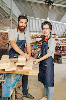 Furniture manufacture owners