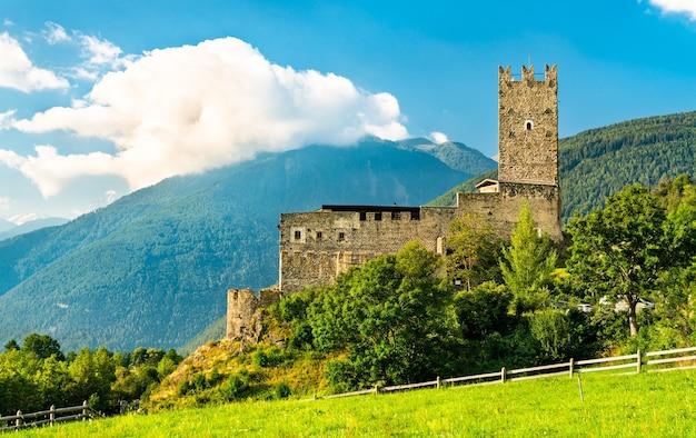 Furstenburg castle in burgeis - south tyrol, italy