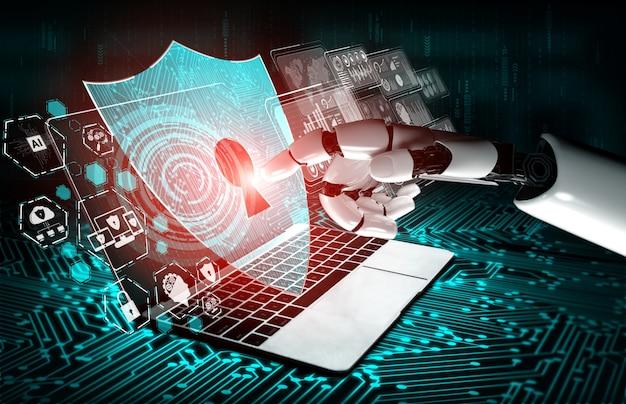 Future artificial intelligence robot
