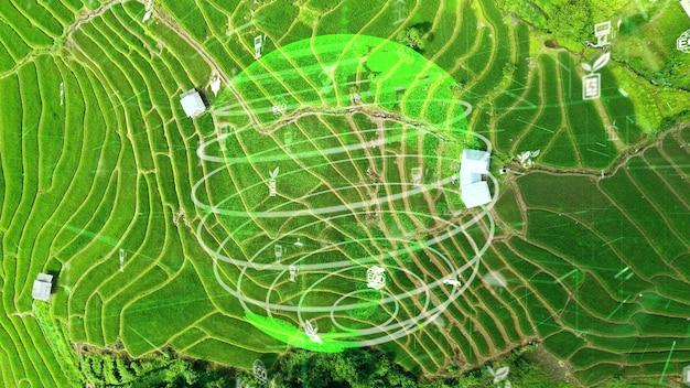 Future environmental conservation and sustainable esg modernization development