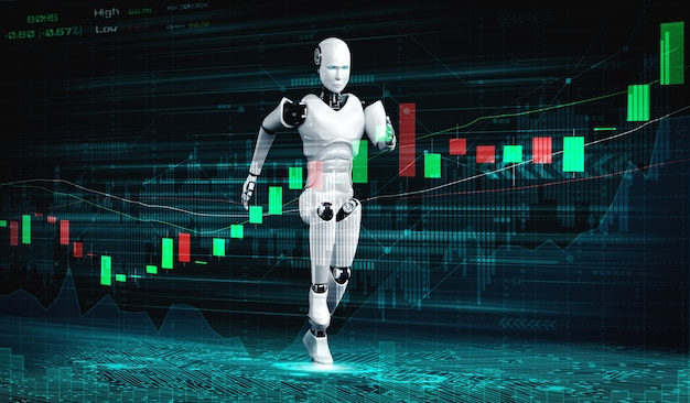 機械学習と人工知能を使ってaiロボットが制御する未来の金融技術