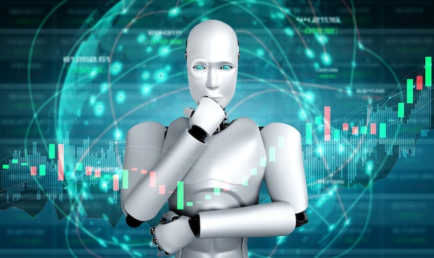 Финансовые технологии будущего, контролируемые роботом искусственного интеллекта с использованием машинного обучения