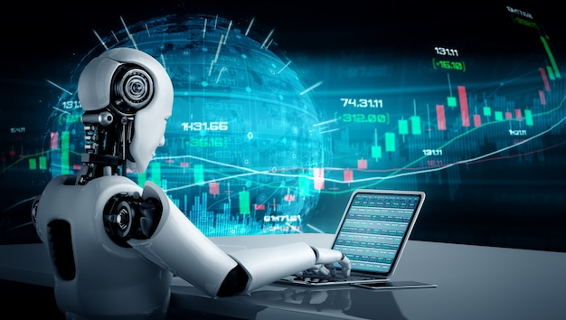 機械学習を利用したaiロボットによる未来の金融技術