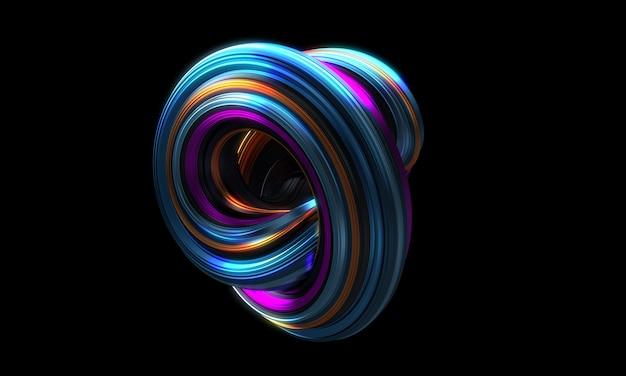 Футуристическая 3d форма