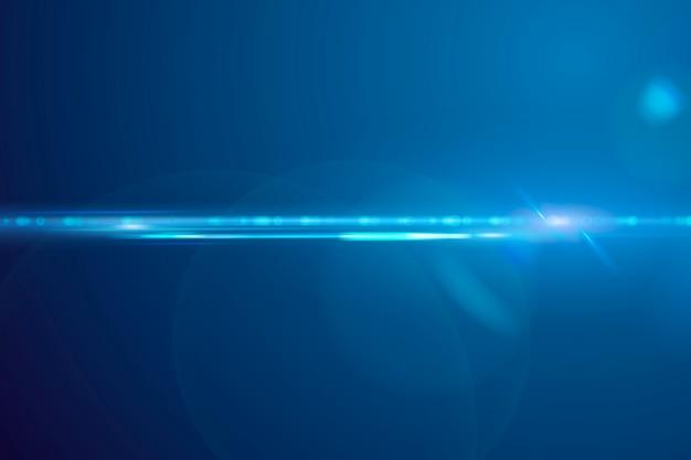 Futuristic anamorphic lens flare background