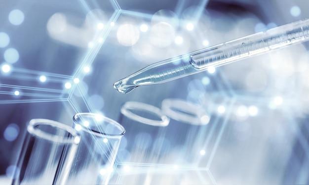 In a futuristic laboratory,