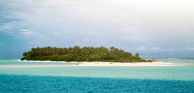 Fuvahmulah island in the maldives