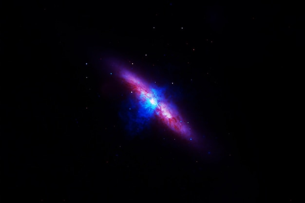 Galaxy background with stars. elements of this image were furnished by nasa. high quality photo