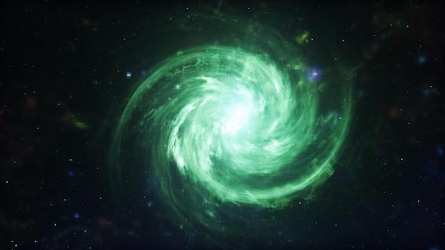 Галактика в космосе, красота вселенной, звездное облако, размытие фона, 3d иллюстрации