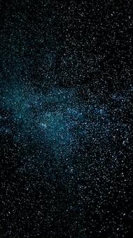 空間テクスチャ背景の銀河