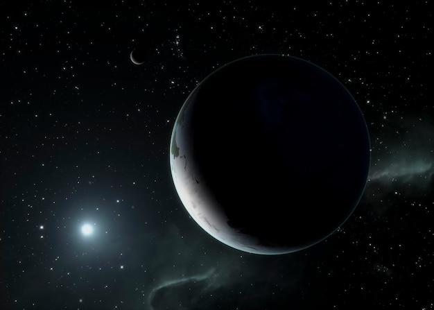 Galaxy panoramica notturna