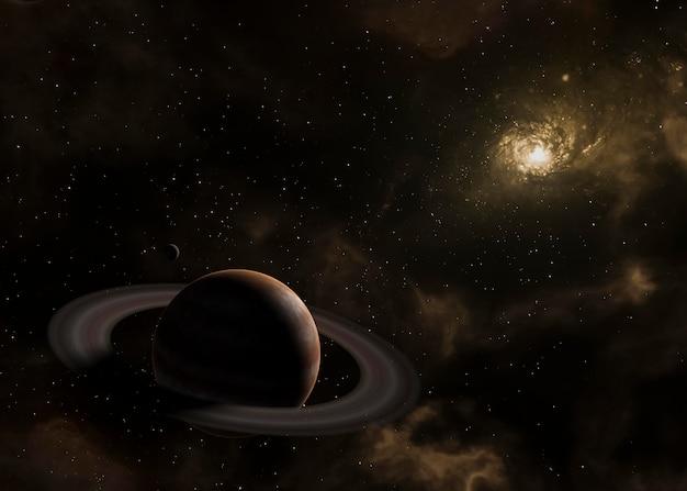 Ночная точка зрения галактики