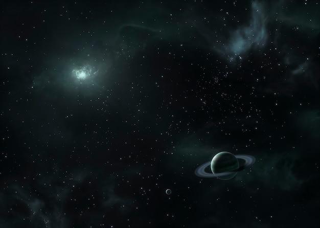 Vista notturna della galassia