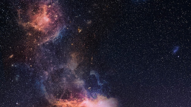 Galassia nello spazio con texture di sfondo