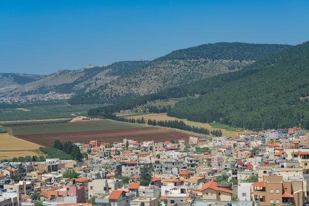 Галилейская деревня под горой табор