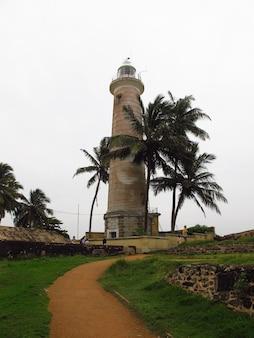 Galle fort lighthouse in sri lanka