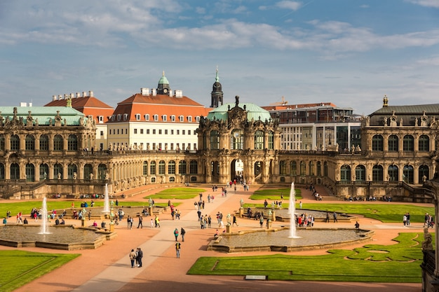 Galleries, museums, dresdner zwinger