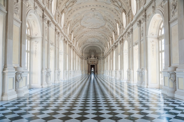 Gallery of the venaria reale royal palace
