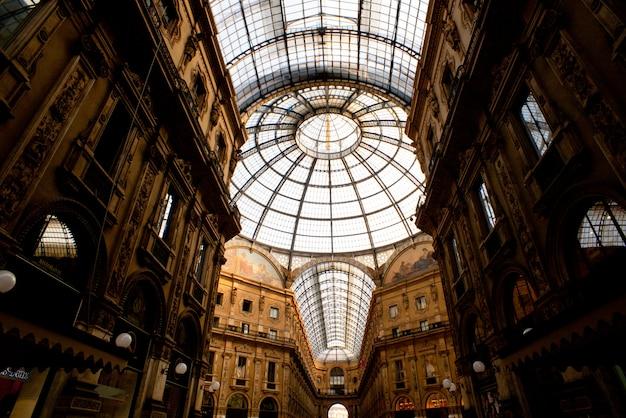 Gallery vittorio emanuele ii、ミラノ