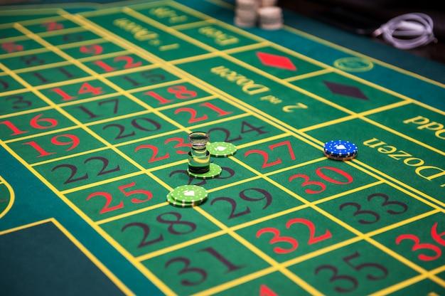 カジノでのギャンブル