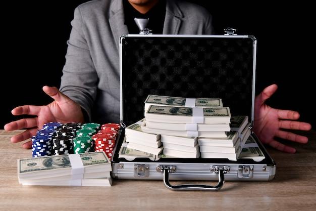 Gambling concepts.