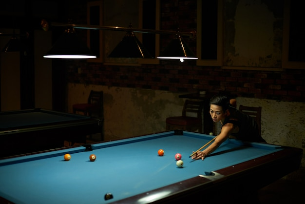 Game of billiard