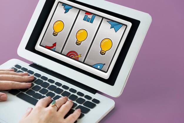 Gioco tecnologia di rete divertimento internet