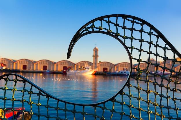 Gandia port puerto valencia in mediterranean spain