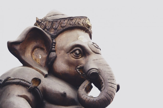 Ganesha lord of success is hindu god