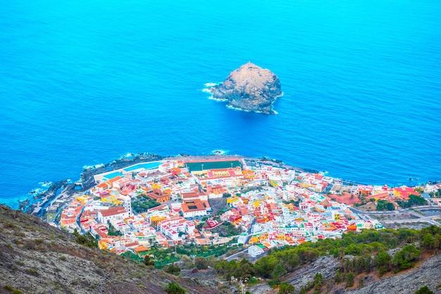 Garachico - small town on the coast of tenerife, canary islands, spain