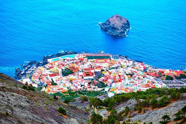 Garachico - small town on the coast of tenerife island, the canaries