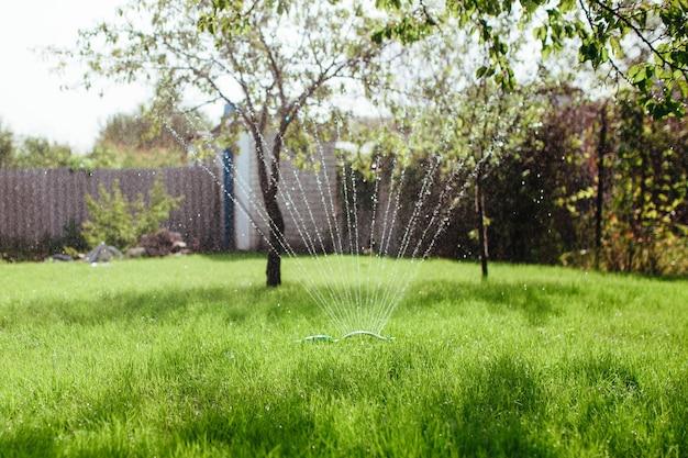 Спринклерный ороситель для орошения газонов и озеленения