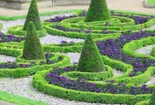 Garden swirls