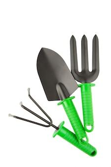 分離された園芸工具
