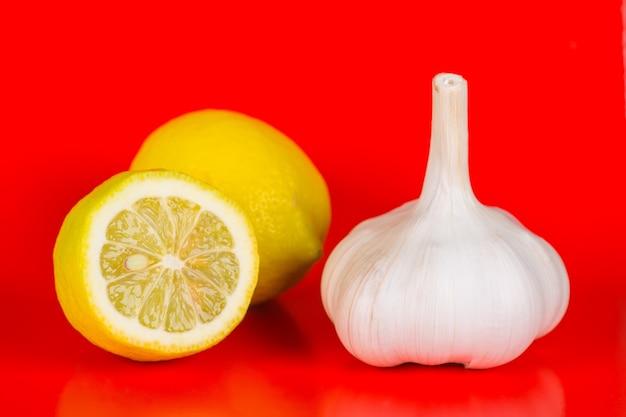 마늘과 레몬, 인플루엔자 예방 및 치료