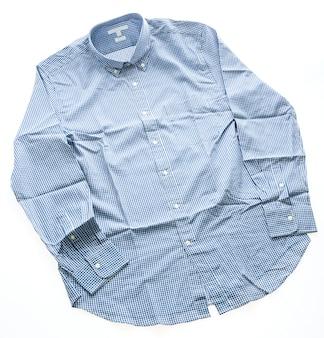 Indumento materiale abbigliamento casual blu