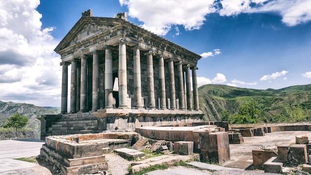 ガルニ神殿-アルメニア
