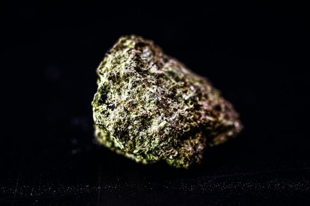 Garnierite or garnierite, is a mineral composed of hydrated nickel silicates. it is an important source of nickel