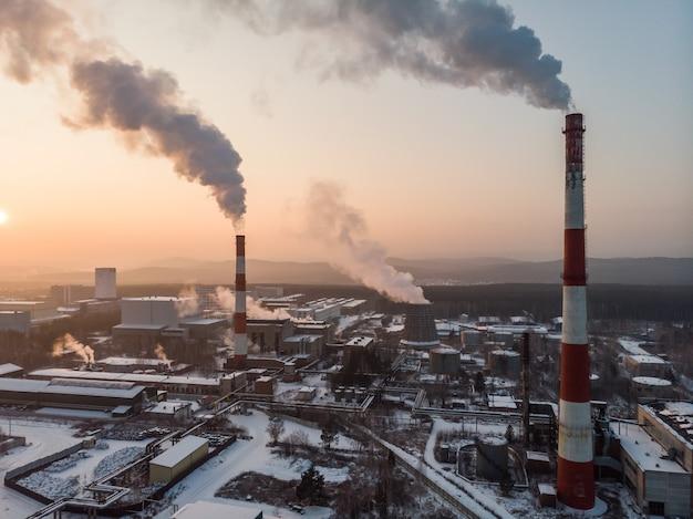 Газотурбинная электростанция с сумеречной мощностью для заводской энергетической концепции.