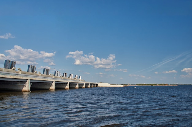 Gateway dam in the gulf of finland
