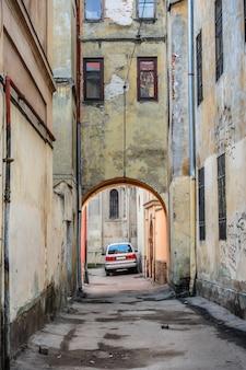 Gateway in old lviv