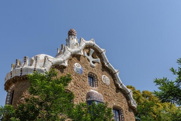 Gaudi's house & blue sky