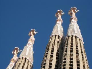 Gaudi, statues
