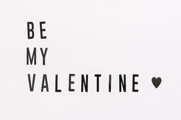 Gay pride concept be my valentine