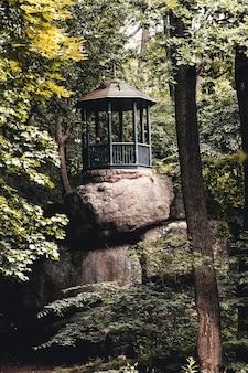 森の中の望楼。