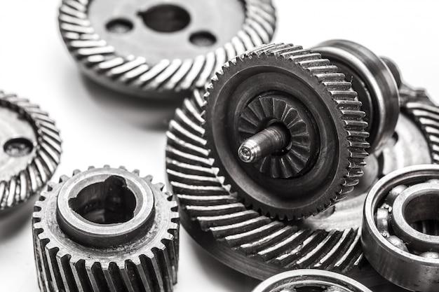 Gear metal wheels