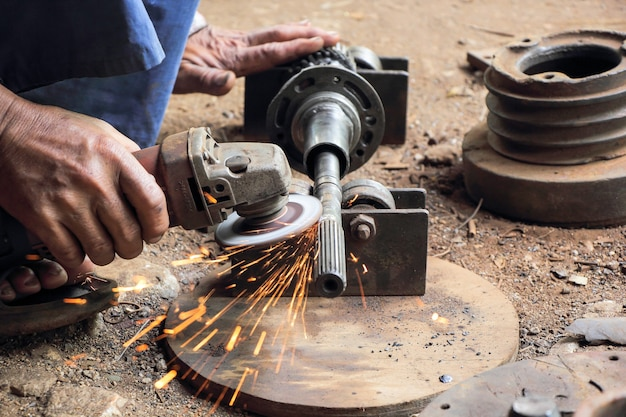 Gear motor repair